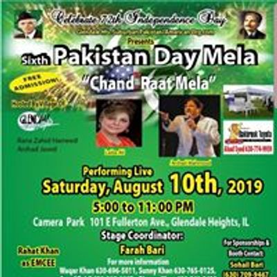 Pakistan Independence Day Mela in Glendale Hts, il at Camera Park