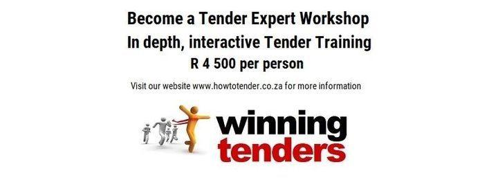 Tender Training Workshop - Randburg R 4500 per person, 19 May | Event in Randburg | AllEvents.in