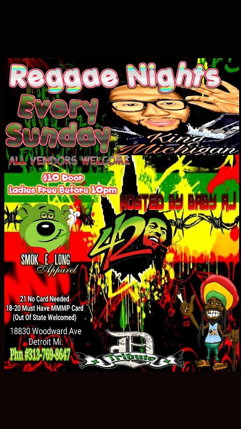 Raggae Nights (Sunday), 21 November | Event in Detroit | AllEvents.in