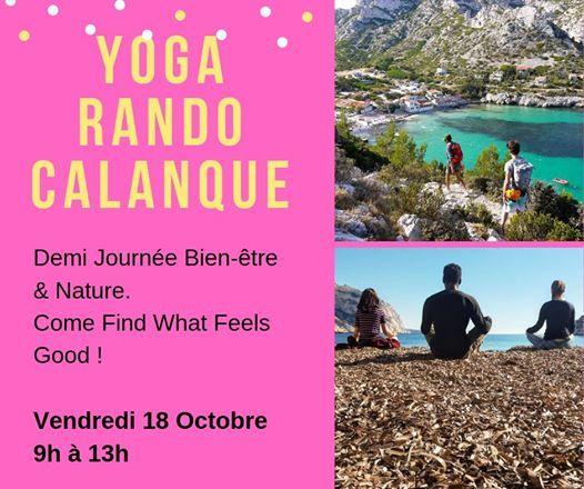 Yoga Rando Calanque Mditation Ouloulou