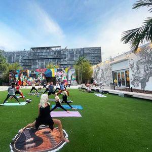 Open-Level Vinyasa Yoga In The Garden