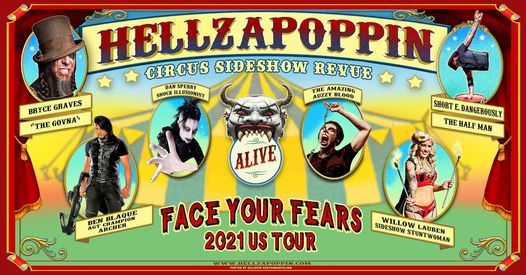 Hellzapoppin Circus FREAK SHOW at The Abbey Orlando, 13 March | Event in Orlando | AllEvents.in