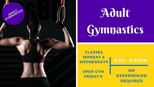 Adult Gymnastics Open Gym, 14 May | Event in Whitehorse | AllEvents.in