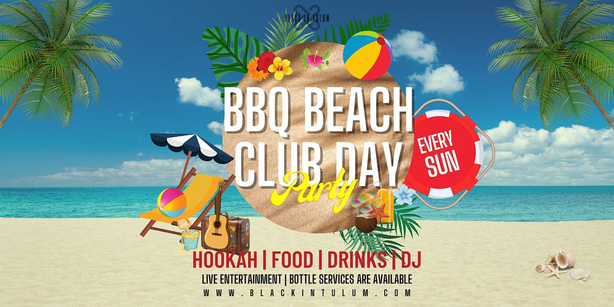 BBQ Beach Club Day Party, 24 October   Event in Tulum   AllEvents.in