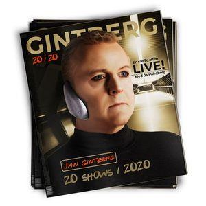 Jan Gintberg - 20 i 20  Skren udsolgt - ny dato