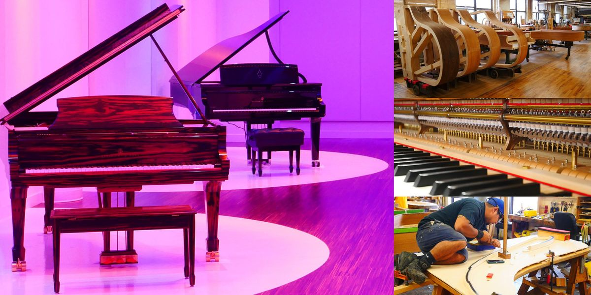 'History of Steinway & Sons and Building the World's Best Piano' Webinar, 18 November | Online Event | AllEvents.in
