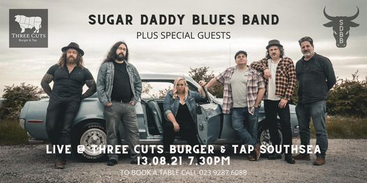Sugar Daddy Blues Band Live at JAGS, 13 August   Event in Fareham   AllEvents.in
