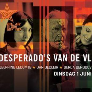 Desperados van de Vlaamse Pozie in De Casino (nieuwe datum)