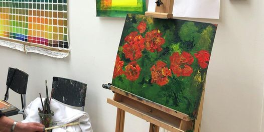 Acrylic painting workshop with Lorna Mackay, 4 September   Event in Glasgow   AllEvents.in