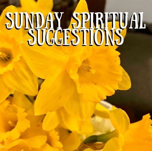Sunday Spiritual Suggestions | Online Event | AllEvents.in