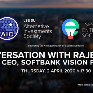 Conversation with SoftBank Vision Funds CEO