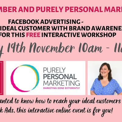 Facebook Advertising - find your ideal clients with Brand Awareness
