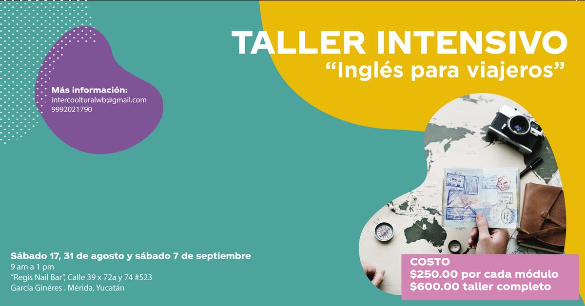 Taller Intensivo Inglés Para Viajeros 3 Módulos At Regis