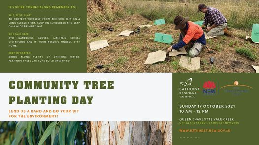 Community Tree Planting Day, 17 October | Event in Bathurst | AllEvents.in