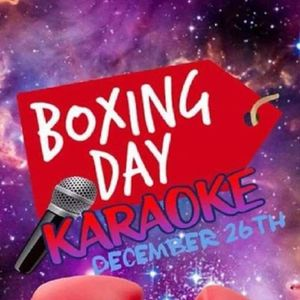 Boxing Day Karaoke with Paul Brown