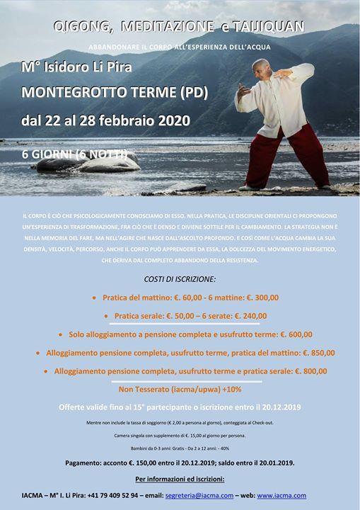 Montegrotto Terme 22-28 febbraio 2020