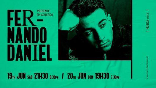 Fernando Daniel | Presente em Acústico, 19 June | Event in Faro | AllEvents.in