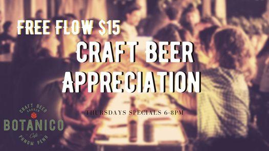 Craft Beer Appreciation Thursdays at Botanico | Event in Phnom Penh | AllEvents.in