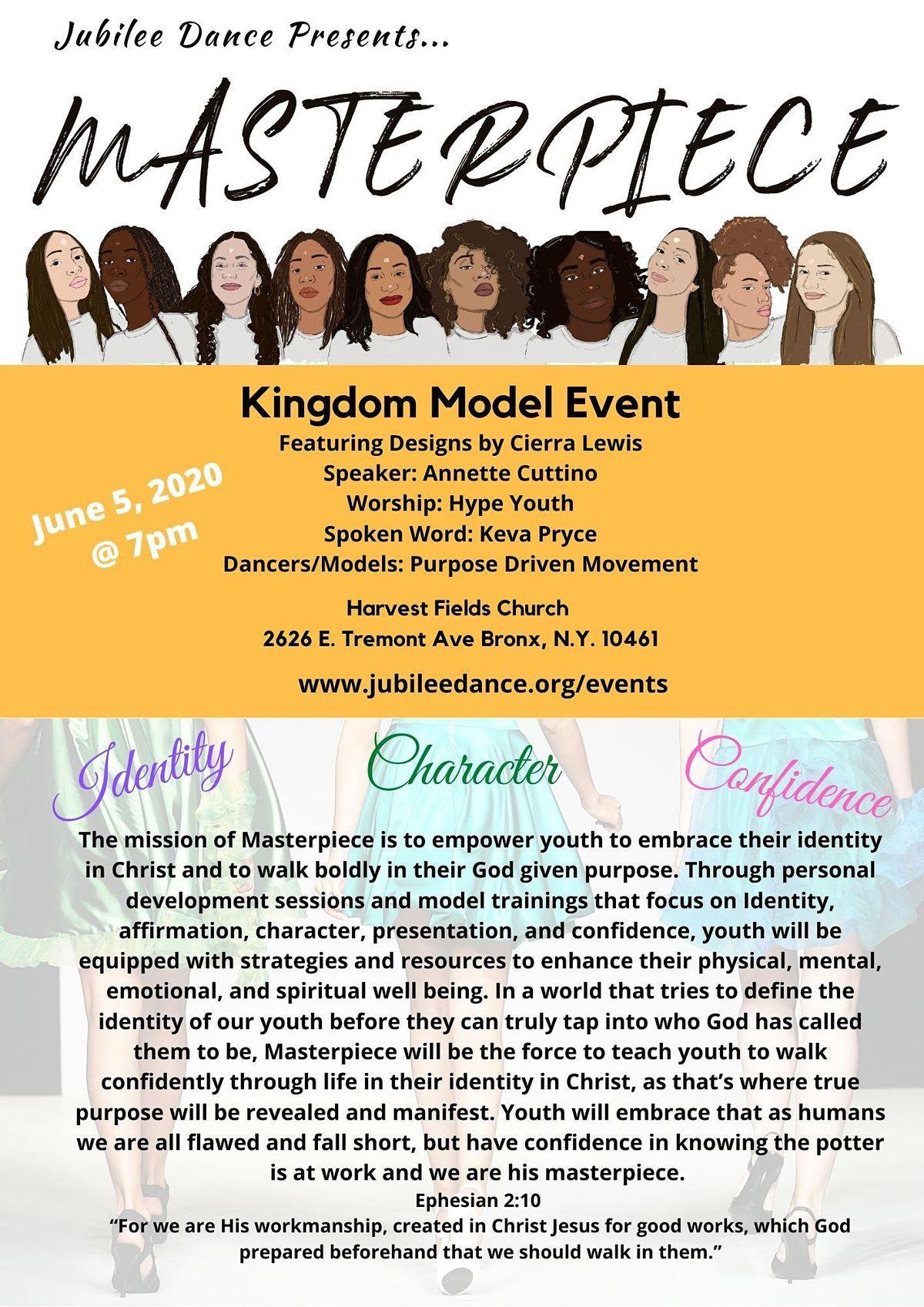 Masterpiece Fashion Show, 4 June | Event in Bronx | AllEvents.in
