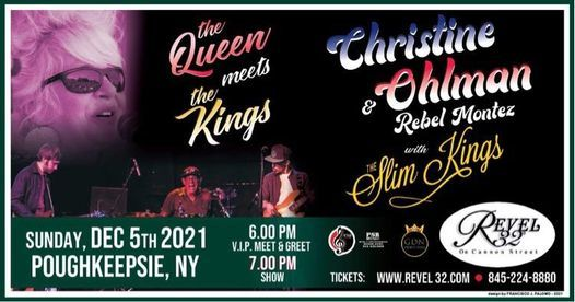 Christine Ohlman and The Slim Kings, 5 December | Event in Poughkeepsie | AllEvents.in
