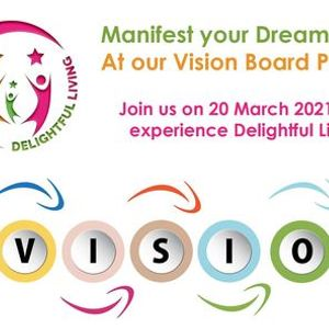 Manifest Your Dreams Vision Board Party