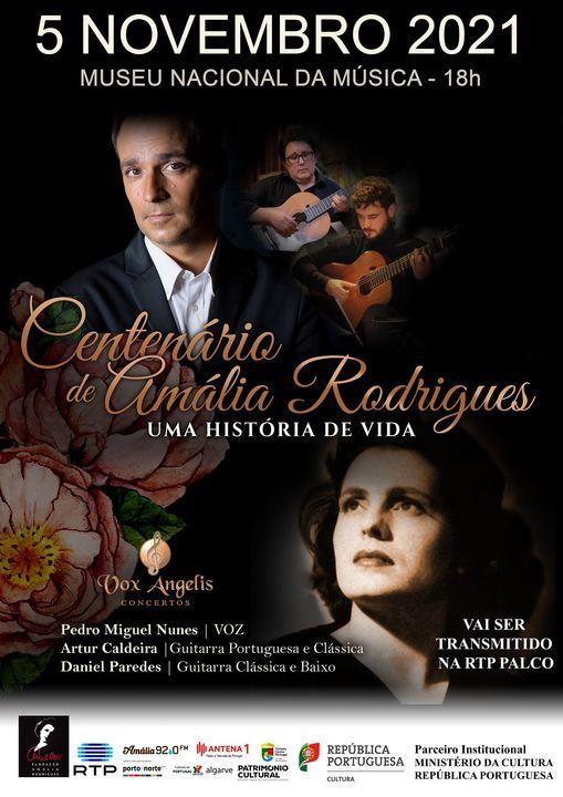 Concerto do Centenário: Amália, uma História de Vida, 5 November   Event in Lisbon   AllEvents.in