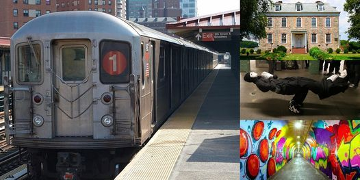 'The Virtual NYC Subway Adventure Series: The 1 Train' Webinar, 4 March | Online Event | AllEvents.in