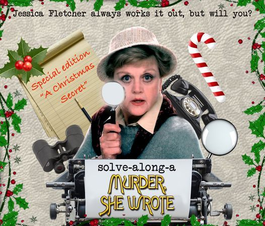 Solve Along a M**der She Wrote - A Christmas Secret, 2 December | Event in Coventry | AllEvents.in
