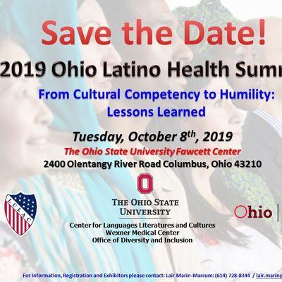2019 OHIO LATINO HEALTH SUMMIT at OSU - Fawcett Center