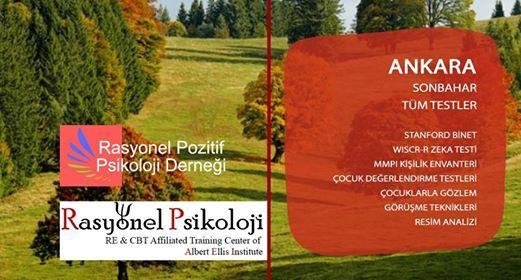 Ankara Sonbahar Tm Testler Program