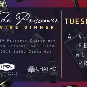 The Prisoner Wine Dinner at Chai Yo Modern Thai