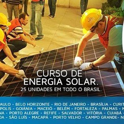 Curso de Energia Solar em Macei AL nos dias 1108 e 12082021
