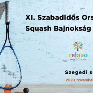 XI. Szabadids Squash OB - Szegedi selejtez