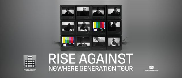 Rise Against - Nowhere Generation Tour, 6 August   Event in Atlanta   AllEvents.in