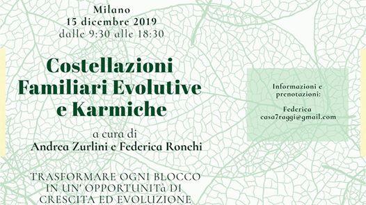 Seminario di Costellazioni FamiliariEvolutive e Karmiche Milano