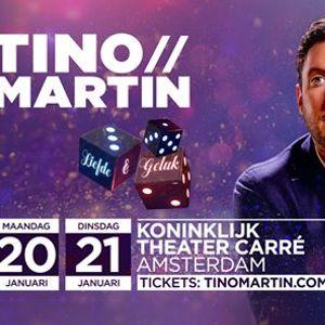 Tino Martin in Koninklijk Theater Carr