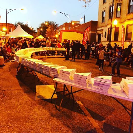 Annual Jumbo Slice Eating Contest and Block Party