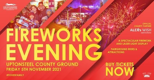 Fireworks Evening at LCCC, 5 November | Event in Leicester | AllEvents.in