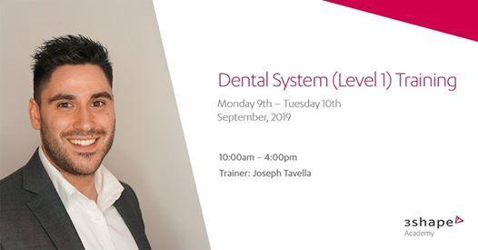3Shape Academy - Dental System Training (Level 1) at 3Shape