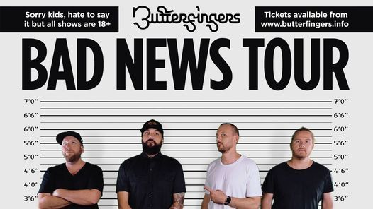 Butterfingers at La La La's, Wollongong, NSW, 26 March | Event in Wollongong | AllEvents.in