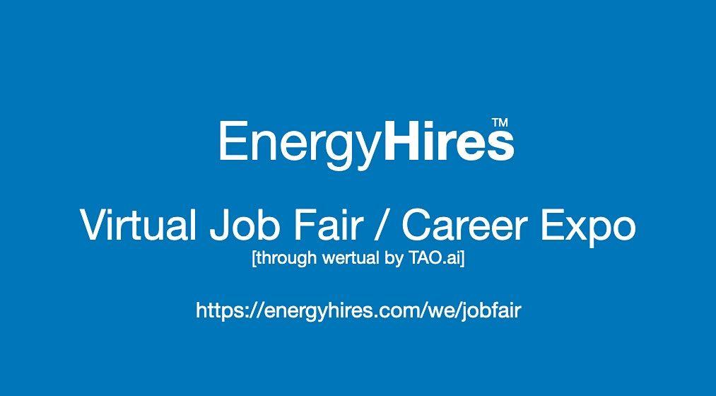 #EnergyHires Virtual Job Fair / Career Expo Event #Sacramento | Event in Sacramento | AllEvents.in