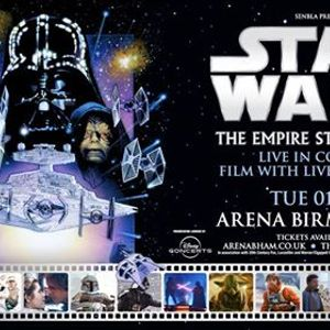 Star Wars Empire Strikes Back with Live Orchestra