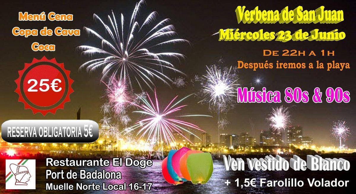 Verbena de San Juan (Cena + Sesión DJ) | Event in Badalona | AllEvents.in