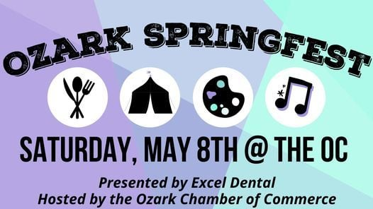 Ozark Springfest Expo, Presented by Excel Dental, 8 May | Event in Ozark | AllEvents.in