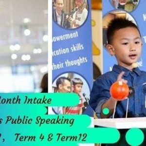 10-Month Kiddos Public Speaking ( Term 1 Term 4 and Term 12)