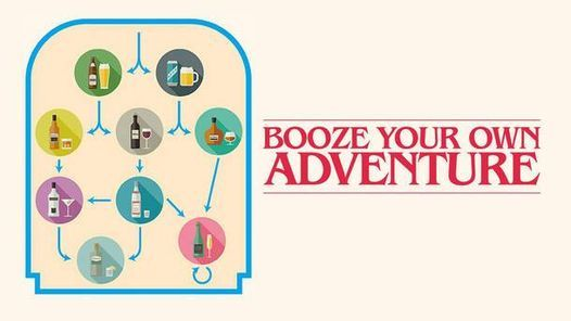 Only $5 - Booze Your Own Adventure - Drinking Improv Game, 1 May | Event in Chicago | AllEvents.in