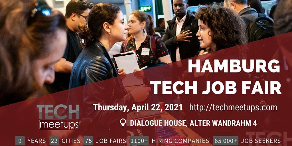 Copenhagen Tech Job Fair Spring 2021By Techmeetups, 22 April   Event in Copenhagen    AllEvents.in