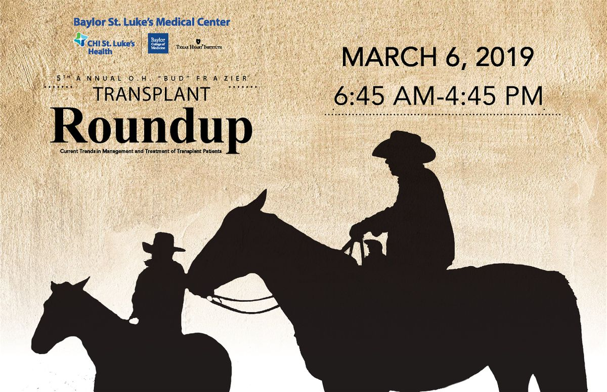 The 5th Annual Transplant Roundup