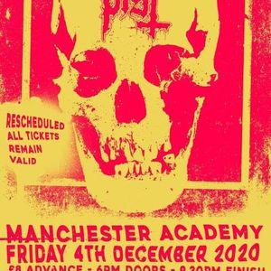 PIST & Mastiff at Manchester Academy - New Date TBC