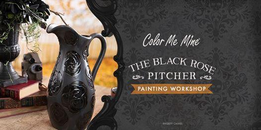 Black Rose Pitcher Adult Workshop